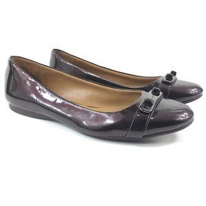 Coach Oswald Flats Shoes Size 8.5 Womens Patent